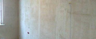 Качественно оштукатуренная стена без шпаклевки