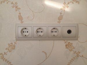 Вид системы электроснабжения по окончании ремонта