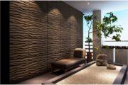 Декоративная пластиковая плитка для стен