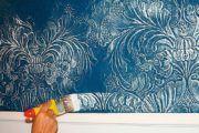 Порядок оклейки обоев на крашеные стены