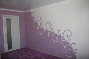 Стильное оформление спальни.